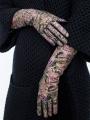 Fashion перчатки ELEGANZZA (Элеганза) IS00148 Зеленый фото №3 01-00020569