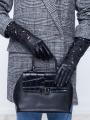 Fashion перчатки ELEGANZZA (Элеганза) F-IS0165 Черный фото №2 01-00007740