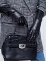 Классические перчатки ELEGANZZA (Элеганза) F-IS5800shelk Черный фото №3 01-00012560