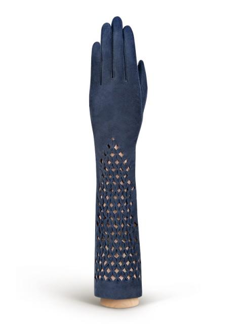 Длинные перчатки ELEGANZZA (Элеганза) F-IS0071 Голубой фото №1 01-00005249