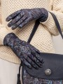 Fashion перчатки ELEGANZZA (Элеганза) IS00151 Синий фото №3 01-00020570