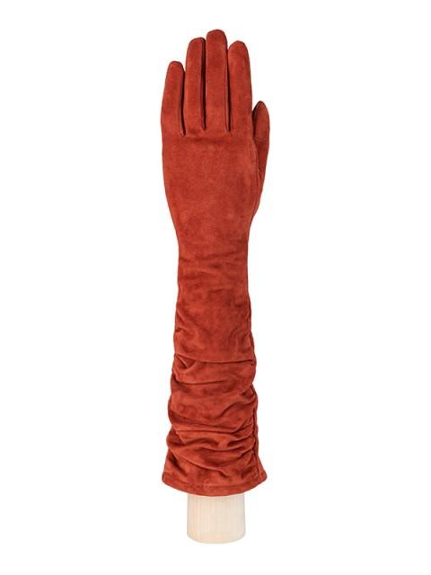 Длинные перчатки ELEGANZZA (Элеганза) IS02010 Рыжий фото №1 01-00003805
